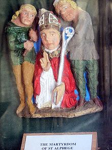 220px-Painted_carving_of_St_Alphege_l